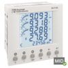 RI-F100-G-C - MID DIN96 Multi-Function Power Meter, Modbus