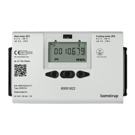 Kamstrup Multical 603 Heat Meter