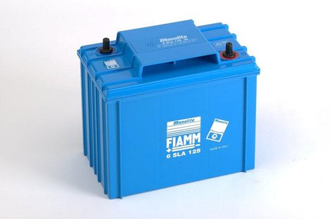 FIAMM 6SLA125 125Ah 6V Batteries