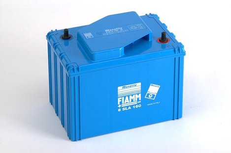 FIAMM 6SLA160 160Ah 6V Batteries