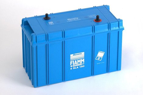 FIAMM 6SLA180 180Ah 6V Batteries