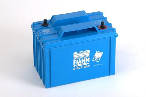 FIAMM 2SLA250 250Ah 2V Batteries