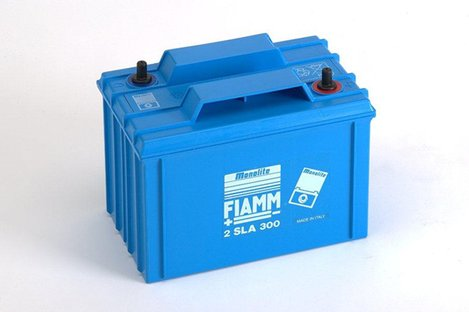FIAMM 2SLA300 300Ah 2V Batteries