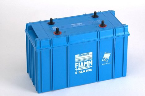 FIAMM 2SLA500 500Ah 2V Batteries