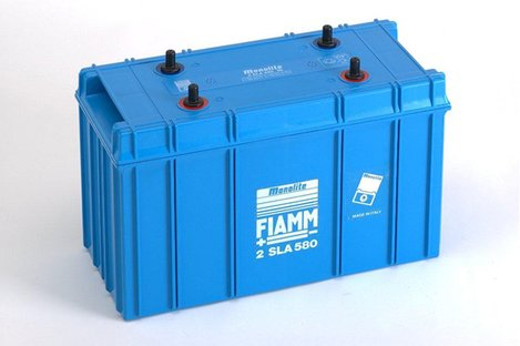 FIAMM 2SLA580 580Ah 2V Batteries