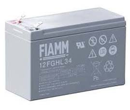 Fiamm 12FGHL34 9Ah 12V 10year Batteries