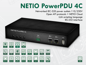PowerPDU 4C: PDU With energy metering and open API