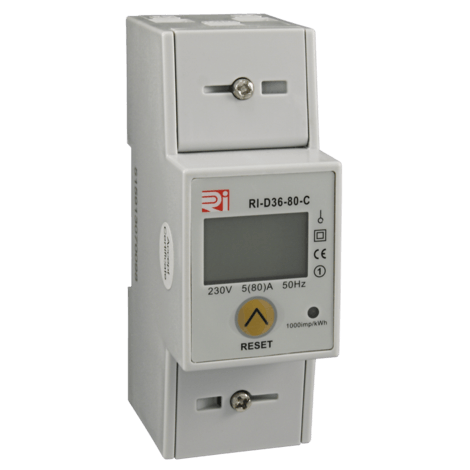 RI-D36-80-C - kWh Energy Meter with Modbus RS485 Output