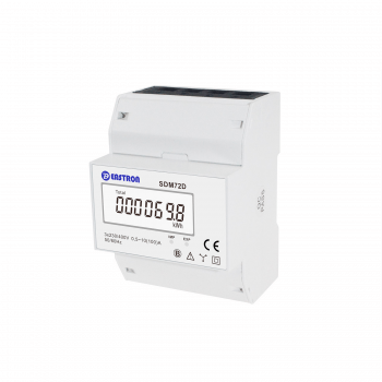 SDM72D-MID Three Phase, MID 100A, Direct Connected, Digital kWh Meter with Pulsed Output