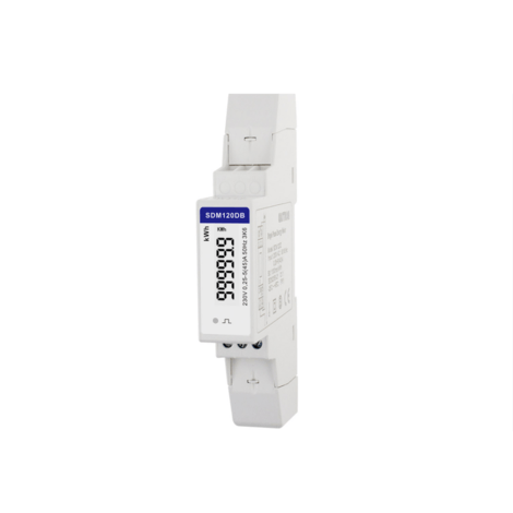 SDM120DB-MID - Single Phase, MID, 45A, Direct Connected, Digital, kWh, Dinrail Meter