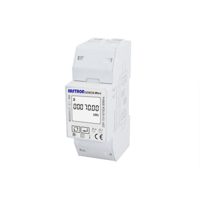 SDM230-Mbus-MID - Single Phase, MID, 100A, Direct Connected, Digital kWh Meter With M-BUS  V1 WIRING