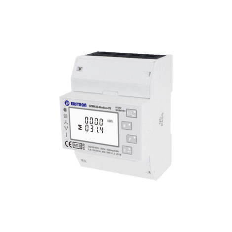 SDM630-MOD-MID Single/Three Phase, MID,  100A, Direct Connected, Multifunction, Dinrail Meter