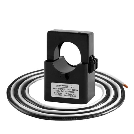 T24 Miniature Split Core Current Transformer (100-300A)