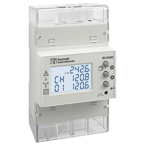 RI-D480-C - Quad Load Easywire®  Multifunction Power Meter, Modbus