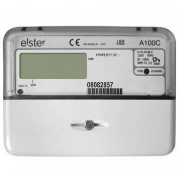 Elster A100C Single Phase Direct Connected Mid Meter with Pulse