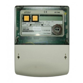 Elster A1140 MID CT Connected Polyphase Electronic meter with Pulse and Import/Export