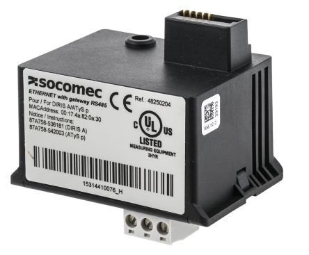 Socomec Diris A40 Ethernet Module with RS485 Gateway