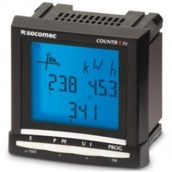 Socomec Countis E50 Energy Meter Pulse Output