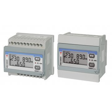 CARLO GAVAZZI EM210-72D PANEL OR DIN RAIL METER WITH PULSE OUTPUT